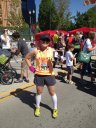 Utah Valley Marathon, 4:16.