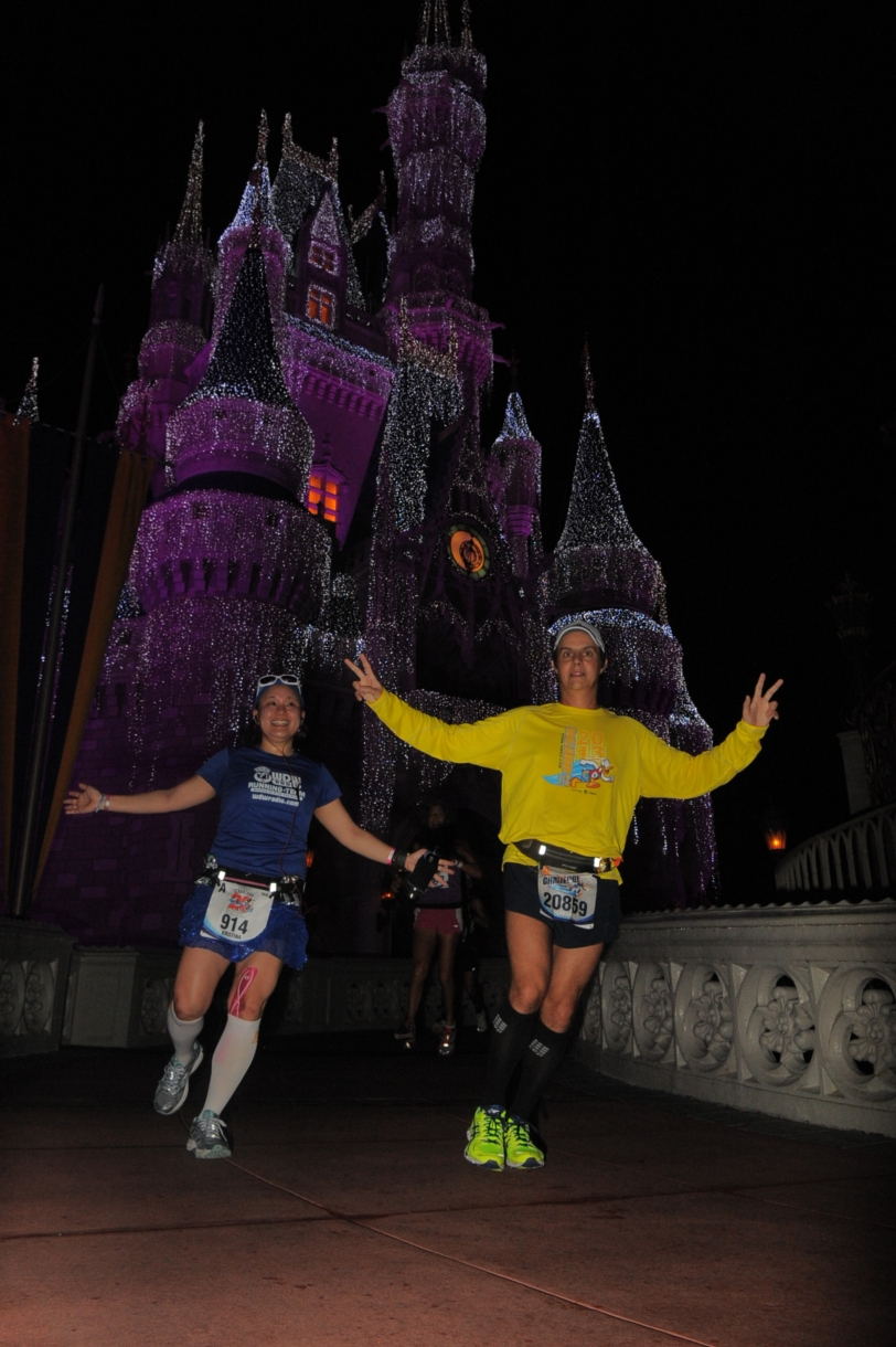 Running through the castle...NBD! ;)