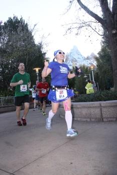 Running past Everest!