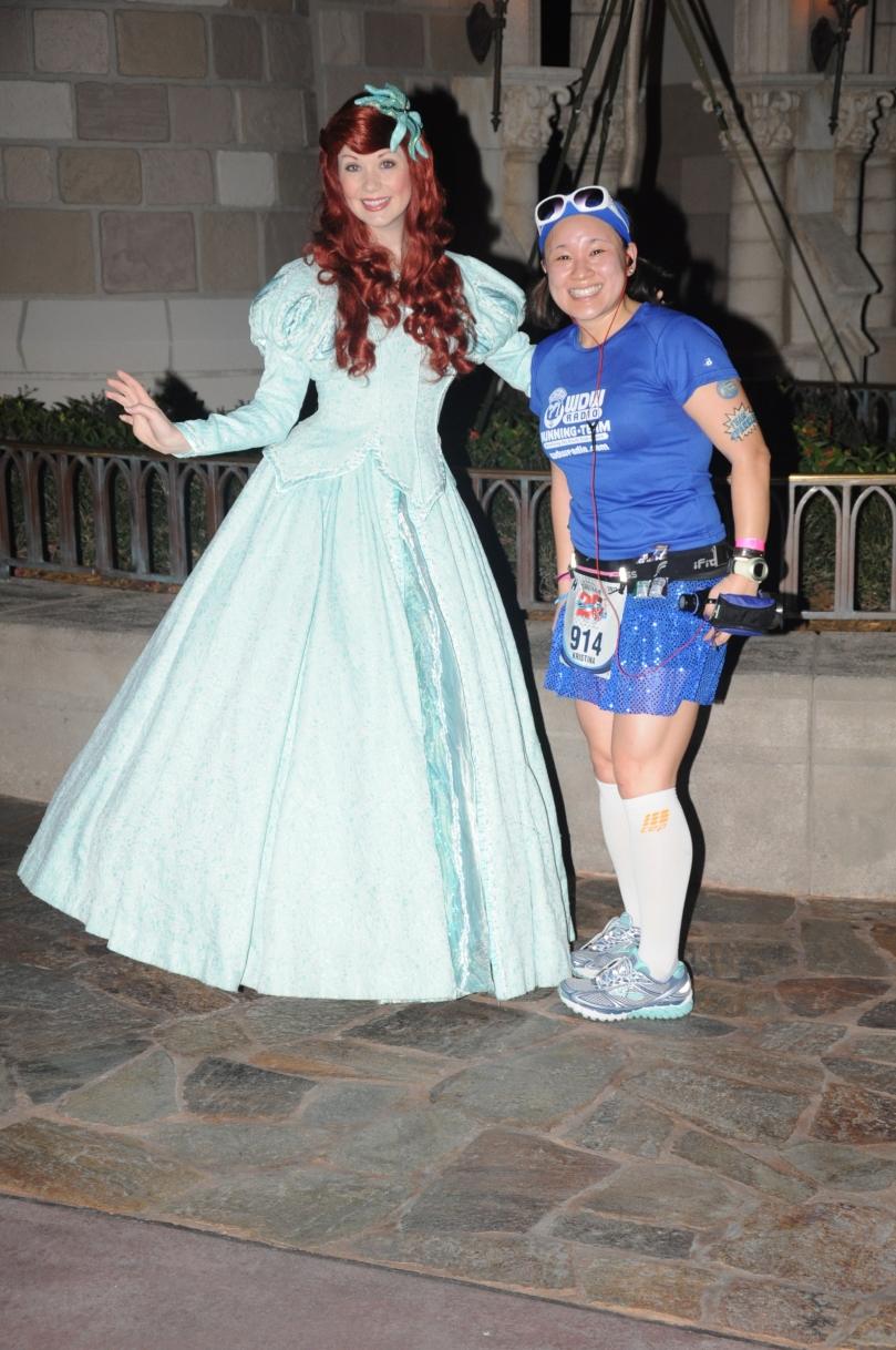 With Ariel!