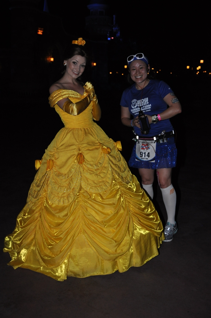 With Belle!