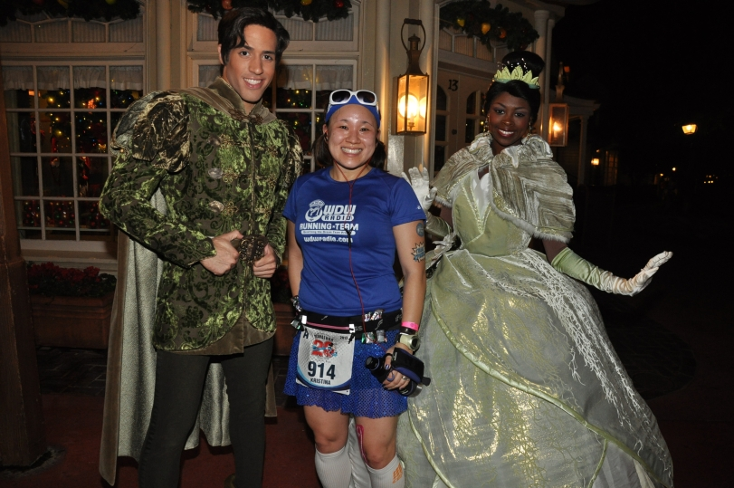 """We're ALMOST THERE!"" ;) With Tiana and Naveen."