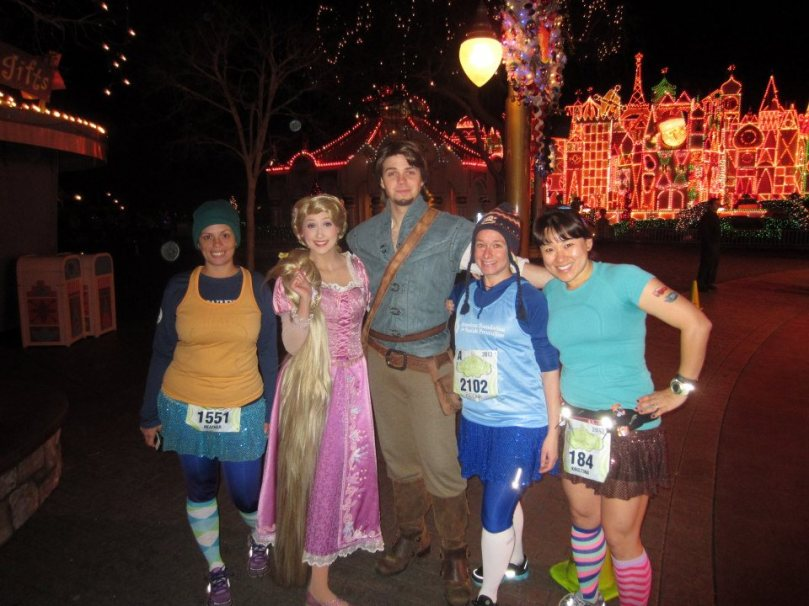 Flynn Rider + Rapunzel.