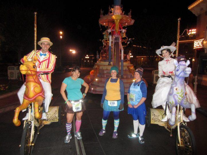 Carousel horses, Mary Poppins + Bert!