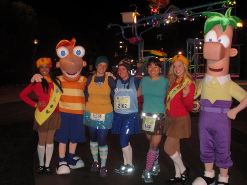 Phineas + Ferb + Fireside Girls