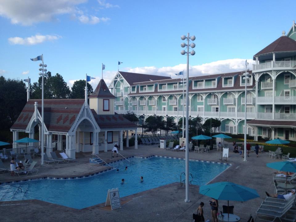 Disney Beach Club Villa  Bedroom Large Balcony