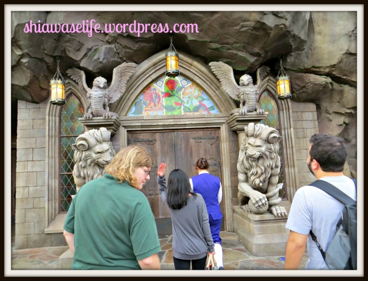 The exterior! Entering the Beast's Castle!!