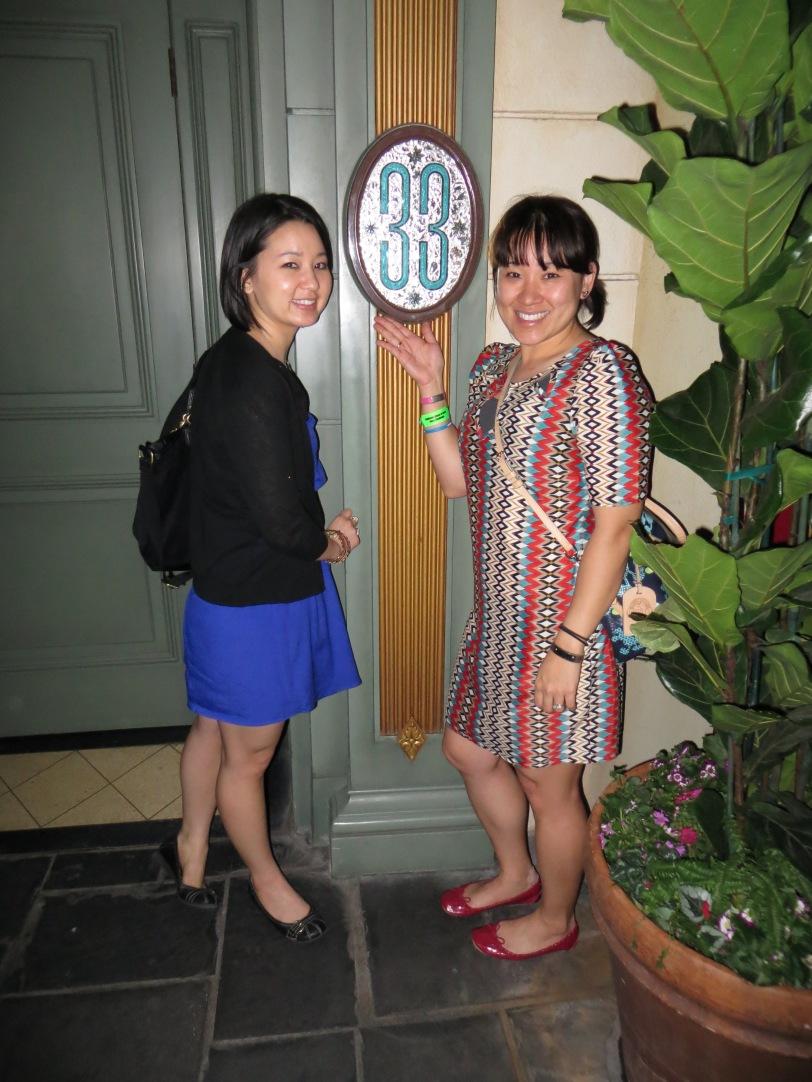 Me and J @ Club 33!