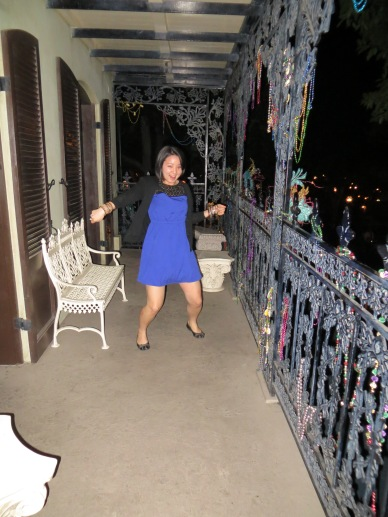 Dancing on the Balcony!