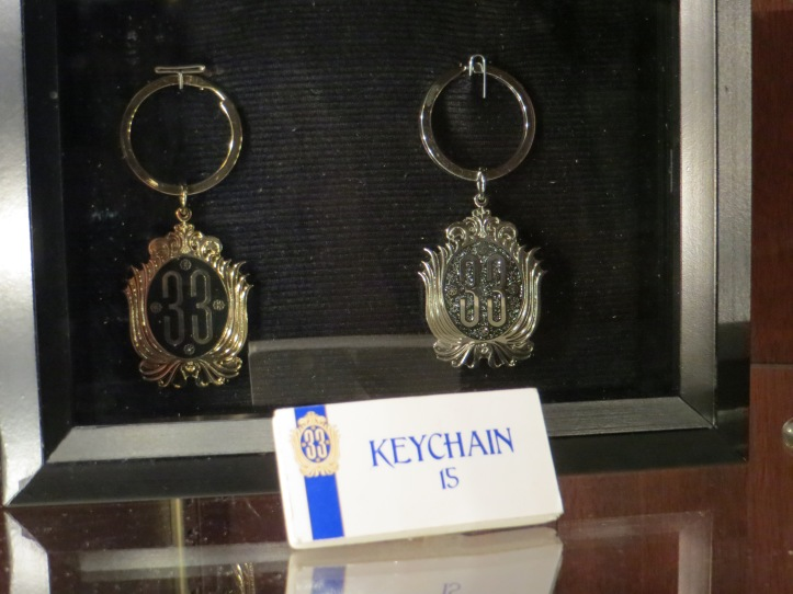 Silver or gold keychains