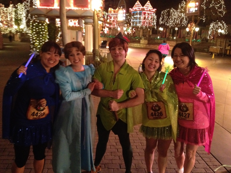 With Peter Pan and Wendy!