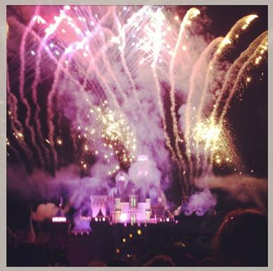 Fireworks before the start!