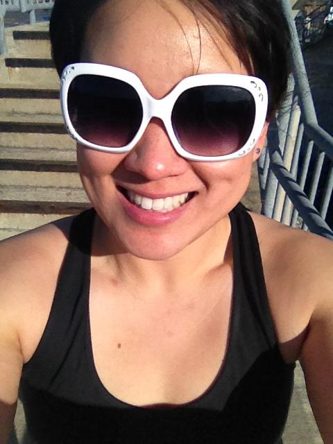 Tank and shades!