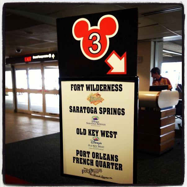 Magical Express to Saratoga Springs Resort!