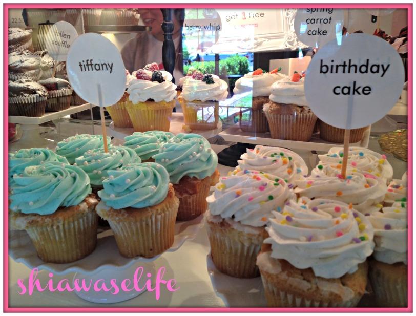 Cupcake closeup!
