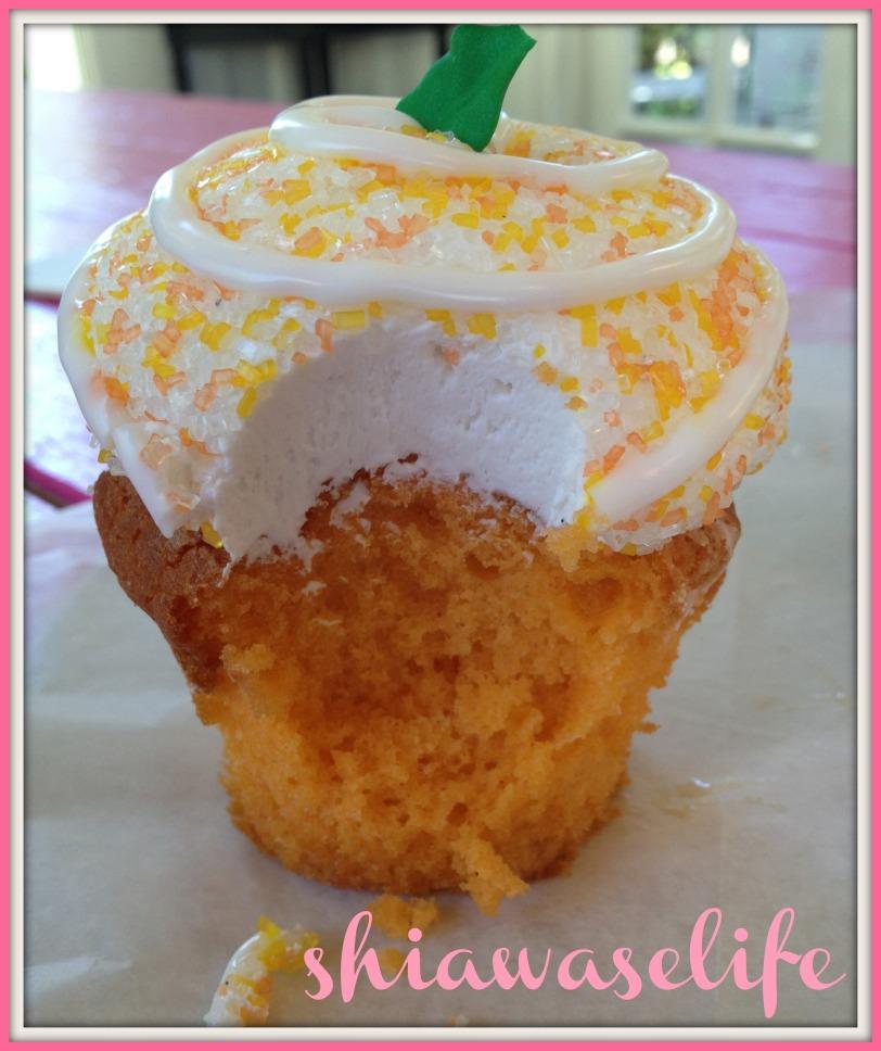 Moist cake + fluffy icing!