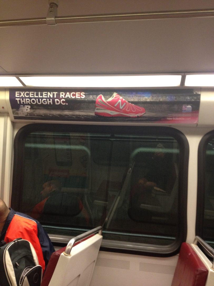 Cool sign on the train!