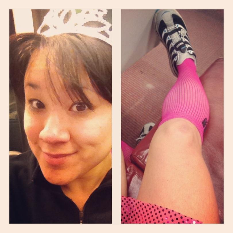 Pink Princess on the Metro!