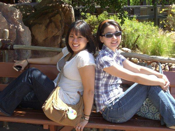 In Disneyland, 2010.