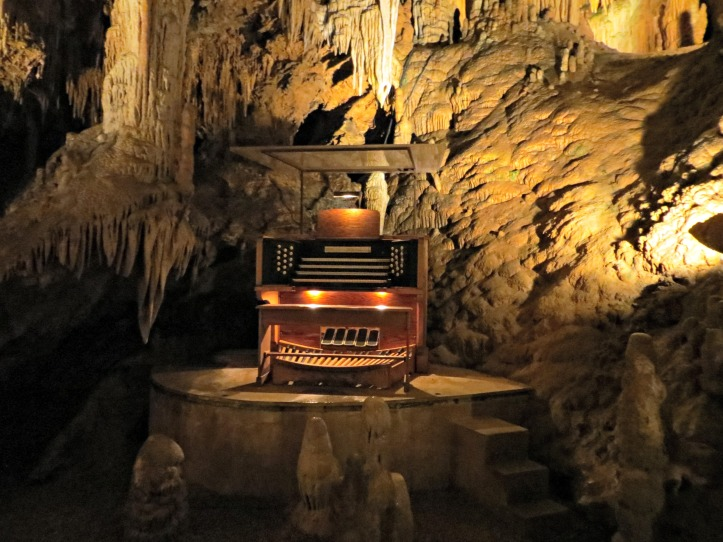 The Great Stalacpipe Organ.