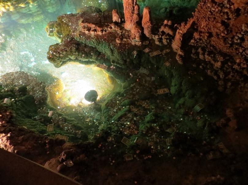 Wishing Well, Luray Caverns.