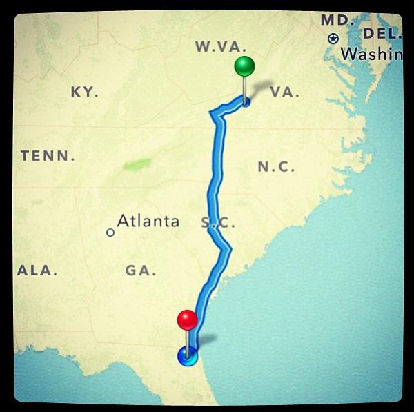 VA to FL!
