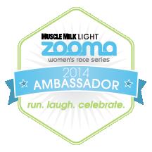 ZOOMA Ambassador Badge 2014