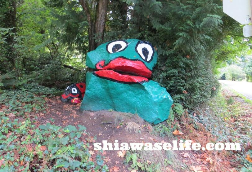 "The Original ""Frog Rock"""