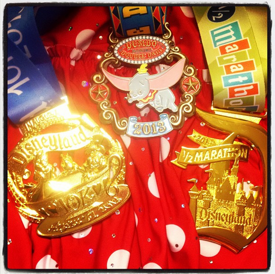 The hardware I earned that weekend.