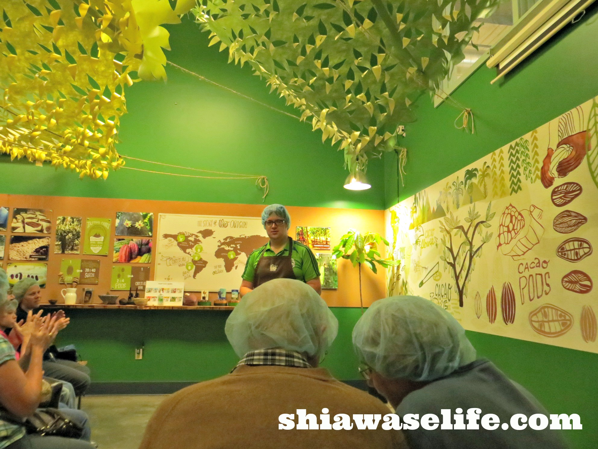 Theo Chocolate Factory Tour | Shiawase Life