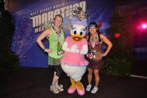 Post- Minnie 10K, WDW Marathon Weekend 2014.